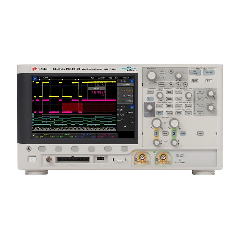 是德科技 MSOX3102T 混合信号示波器