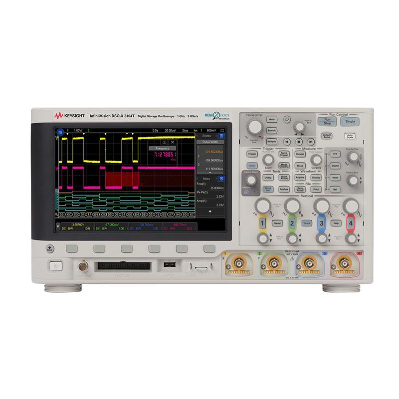 是德科技 DSOX3104T 示波器
