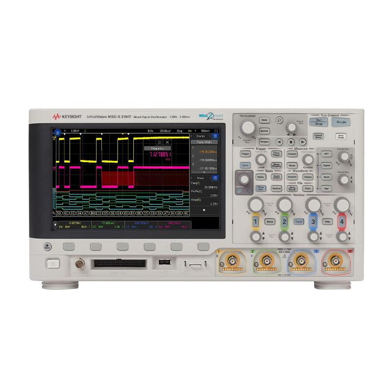 是德科技 MSOX3104T 混合信号示波器