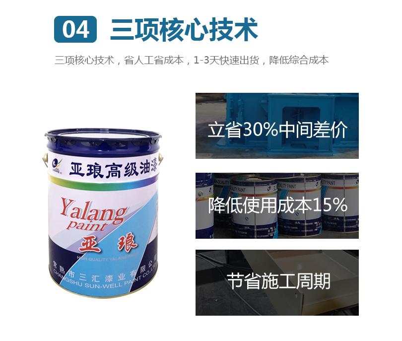 丙烯酸聚氨酯面漆3项核心技术,省人工省成本