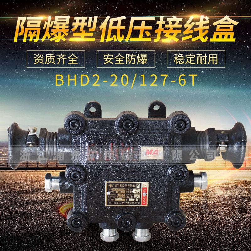 隔爆型低压接线盒-BHD2-20/127-6T