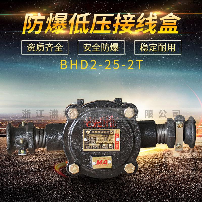 防爆低压接线盒-BHD2-25-2T