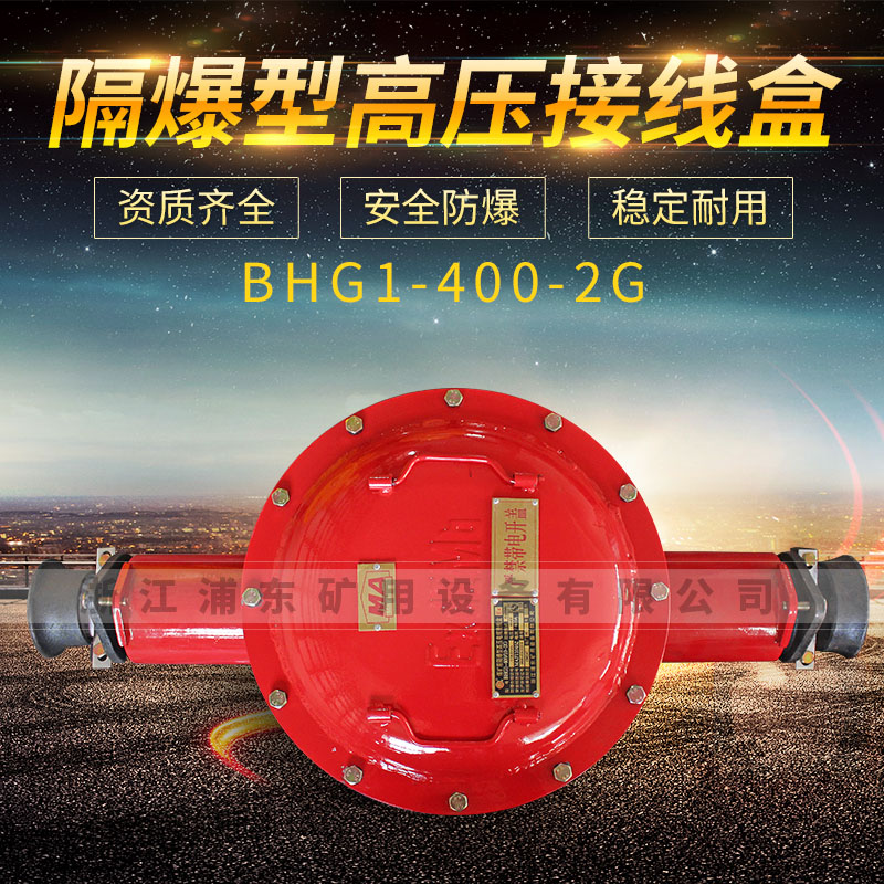 隔爆型高压接线盒-BHG1-400-2G