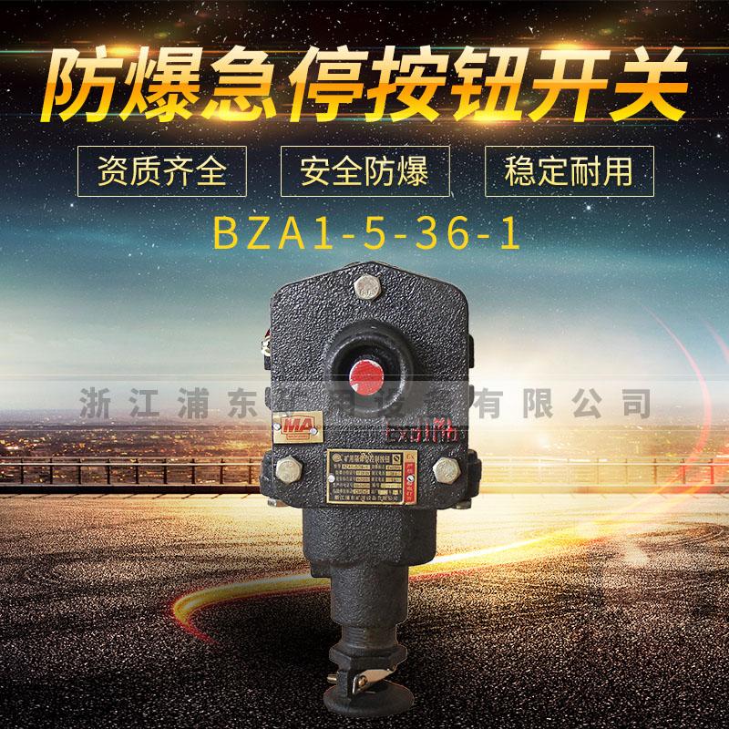 防爆急停按钮开关-BZA1-5-36-1