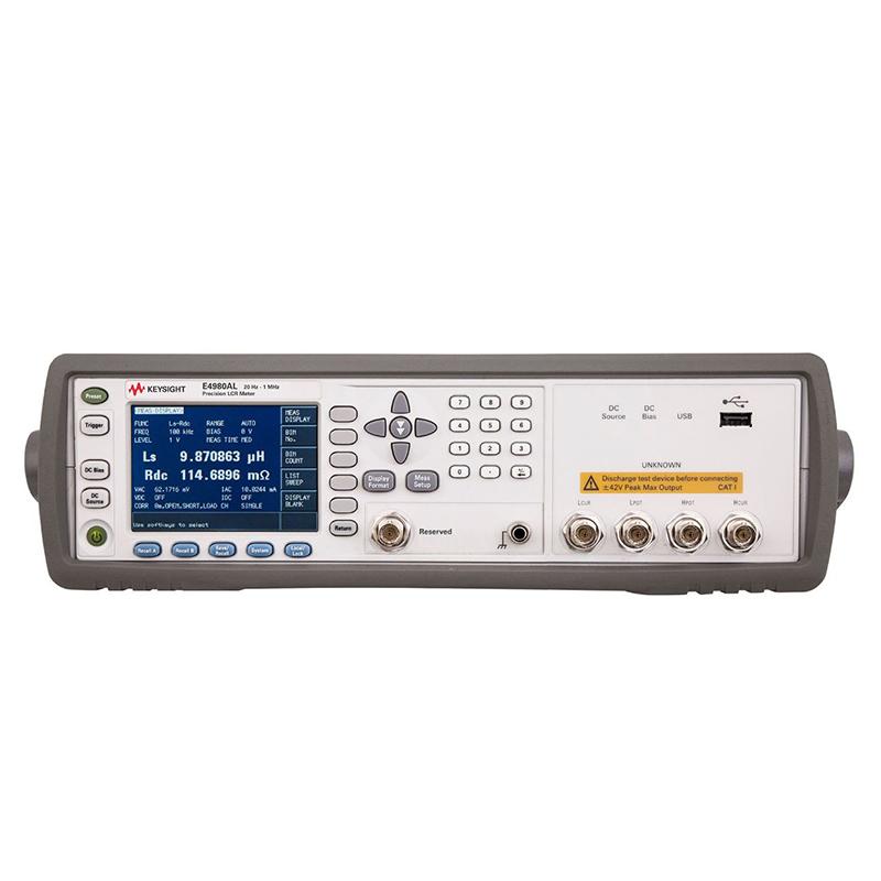 是德科技 E4980AL 精密型 LCR 表