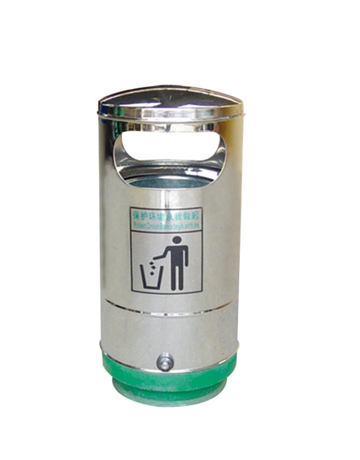 不锈钢垃圾箱CQU-BX-Y023