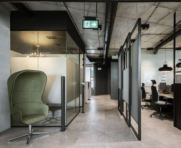 辦公室如何裝修設計,可以打造出空間節奏感?
