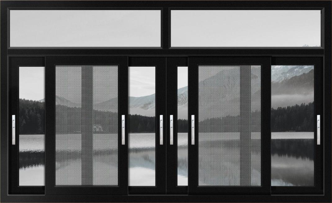 GR100断桥高低轨推拉窗