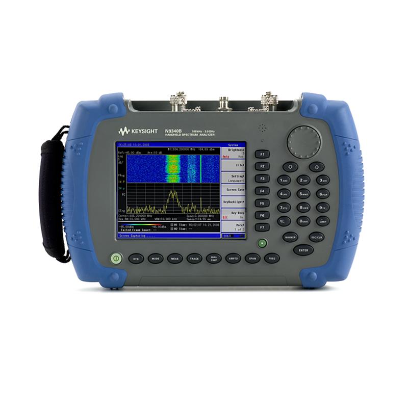 是德科技 N9340B 手持式射频频谱分析仪