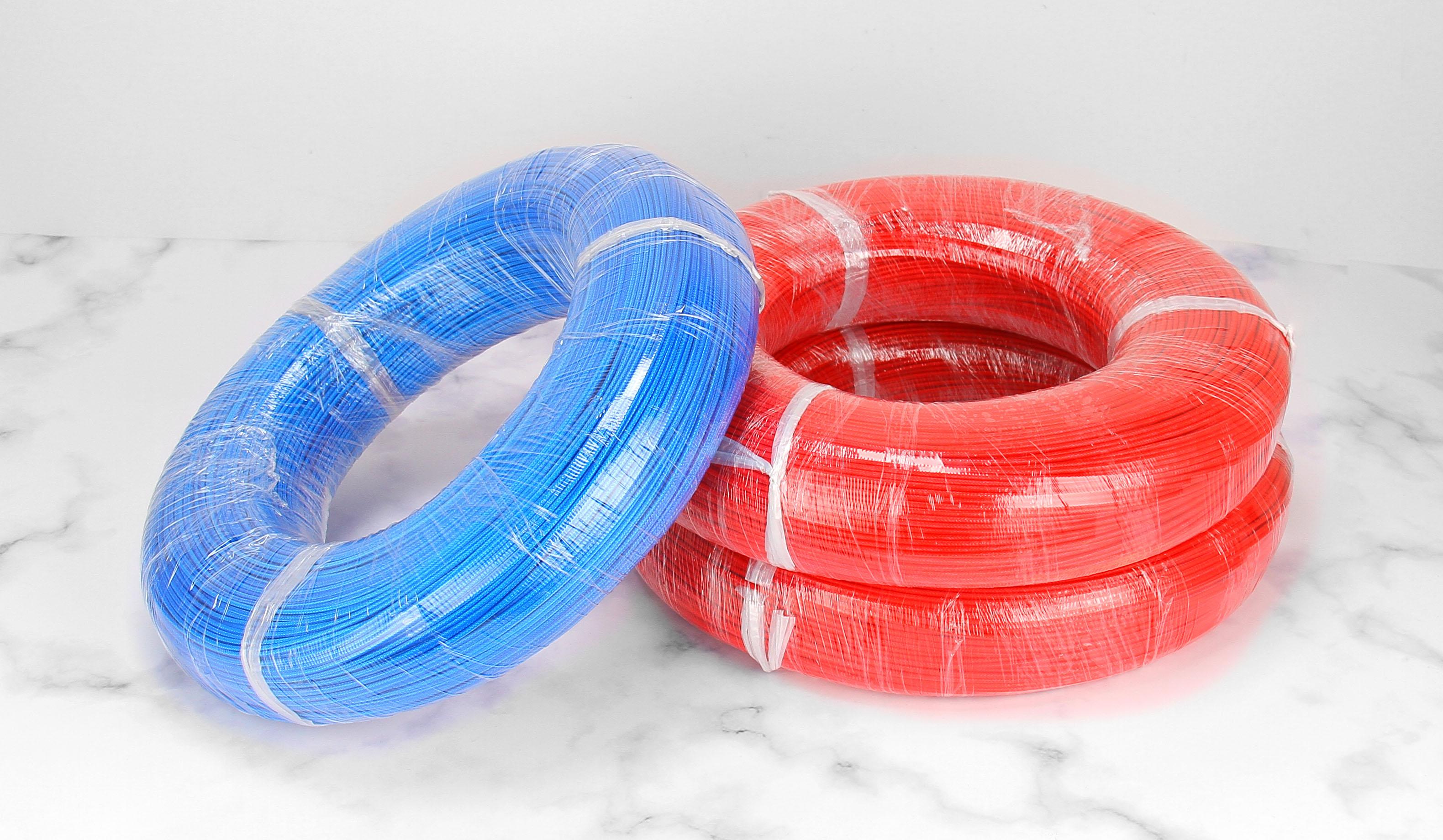 高温硅胶编织线