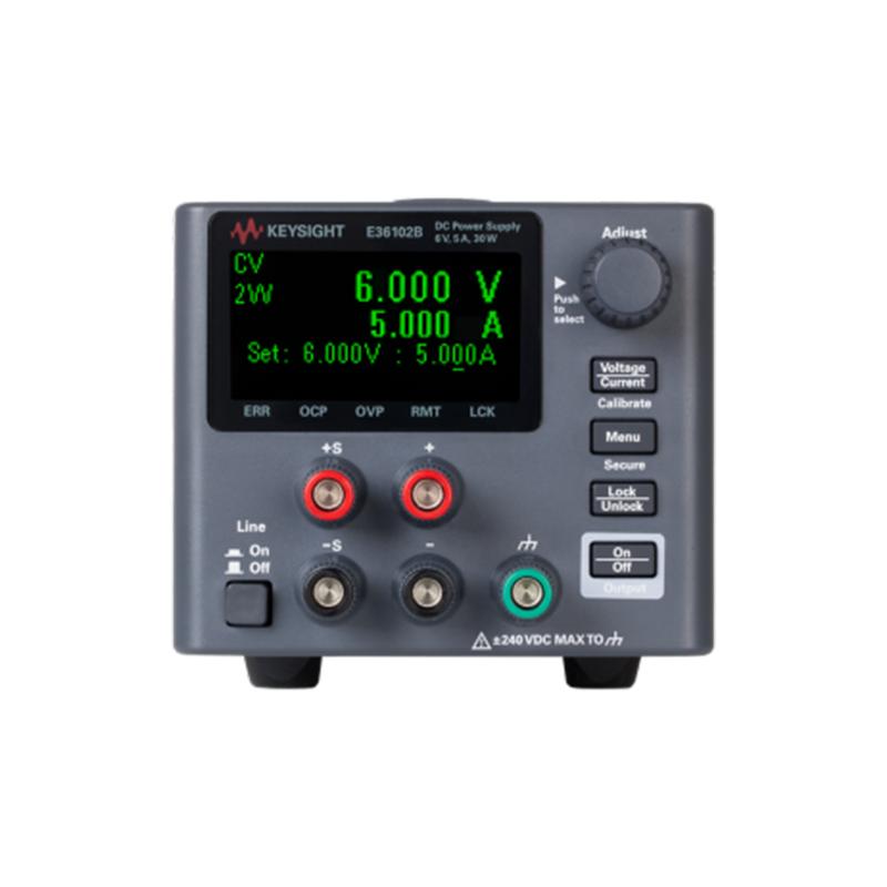 是德科技 E36100 系列台式电源