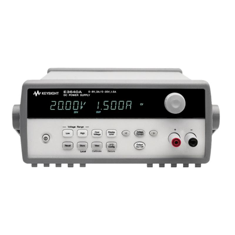 是德科技 E3640 系列台式电源