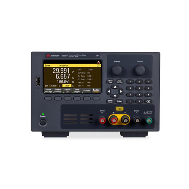 是德科技 E36200 系列直流电源