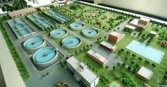 哈尔滨群力污水处理厂模型