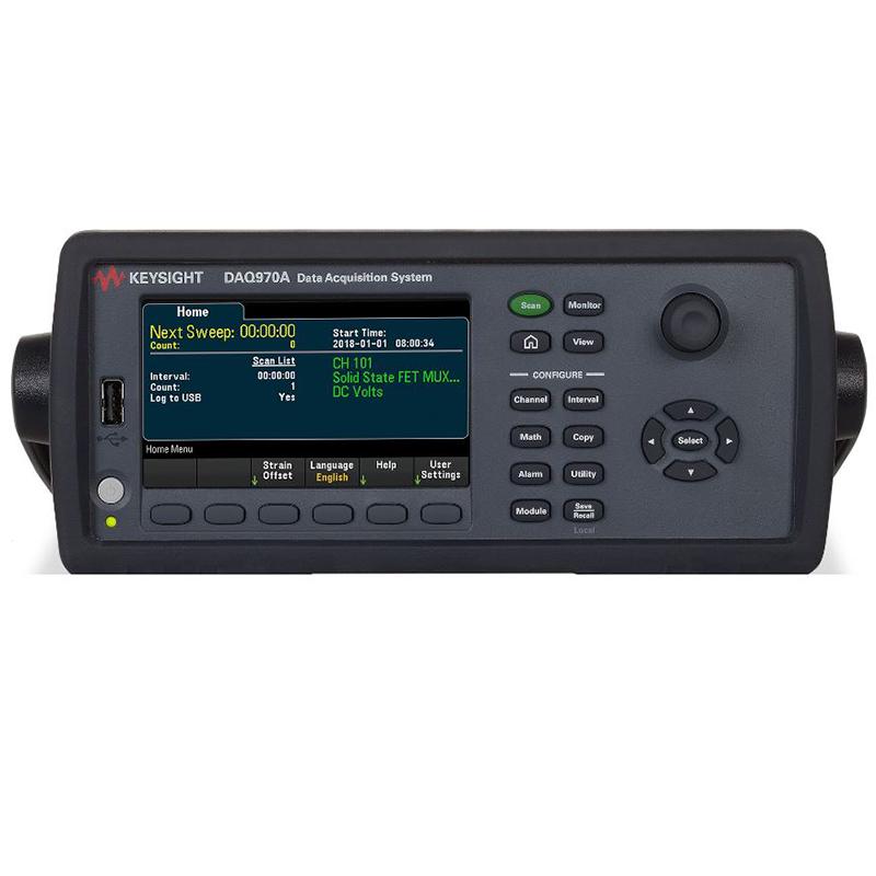 是德科技 DAQ970A 数据采集系统