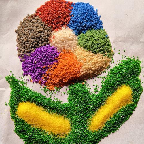 彩色陶瓷颗粒