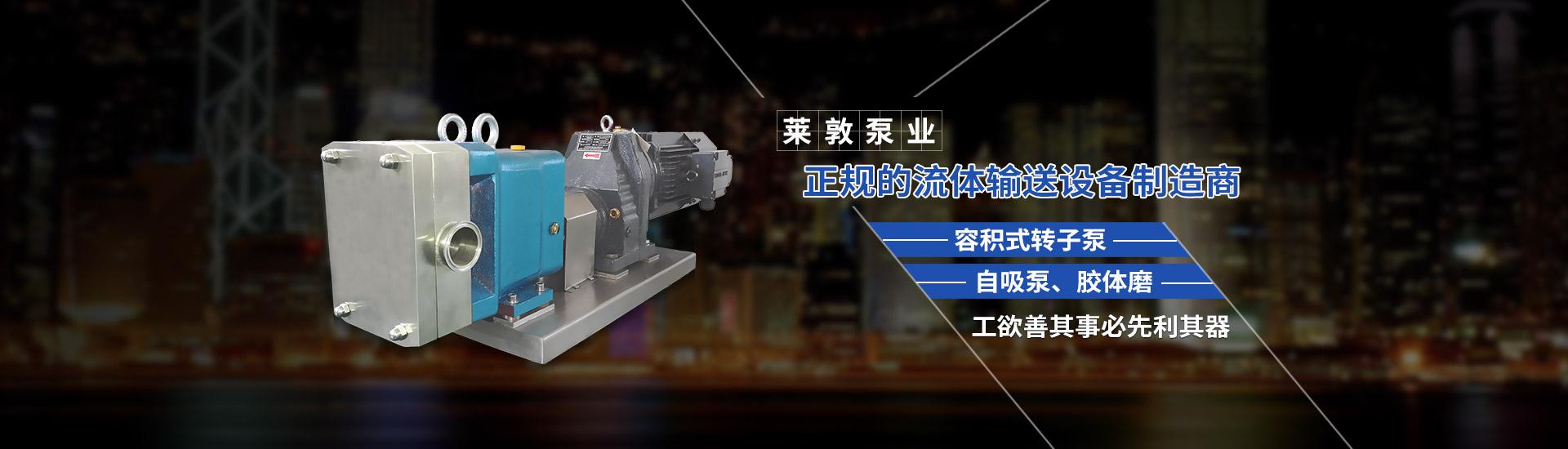 上海转子泵制造商