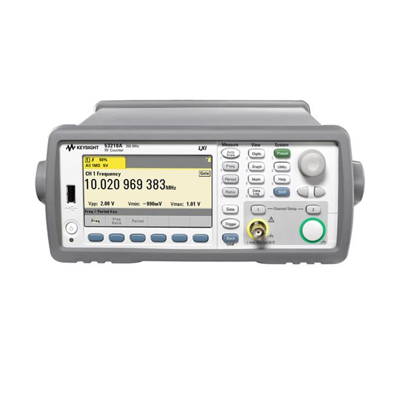 是德科技 53210A 350 MHz 射频频率计数器