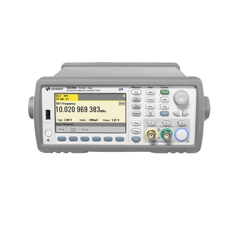 是德科技 53220A 350 MHz 通用频率计数器/计时器