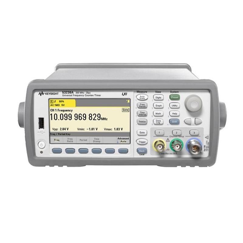 是德科技 53230A 350 MHz 通用频率计数器/计时器