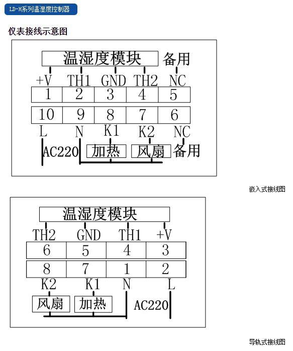 福建力得LD-H系列温湿度控制器接线示意图.JPG