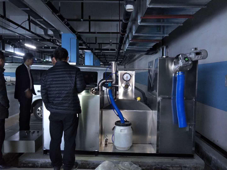 上海奉贤某商城一体化隔油设备采购