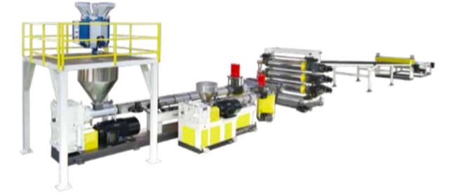 PMMA、GPPS、PET 板材生产线