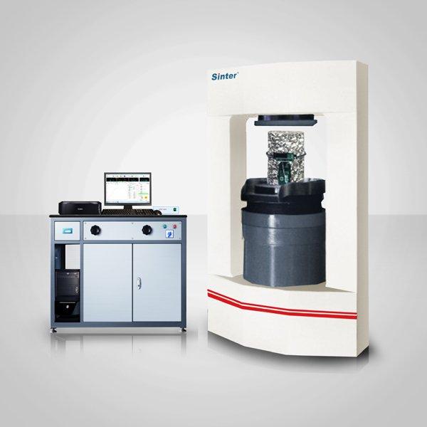 微機控制電液伺服巖石壓力試驗機