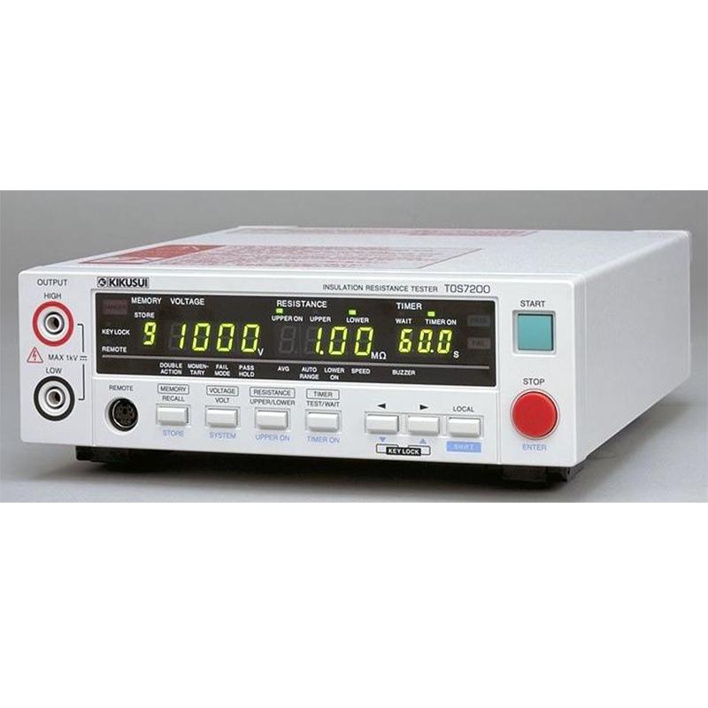 日本菊水 TOS7200 绝缘电阻计