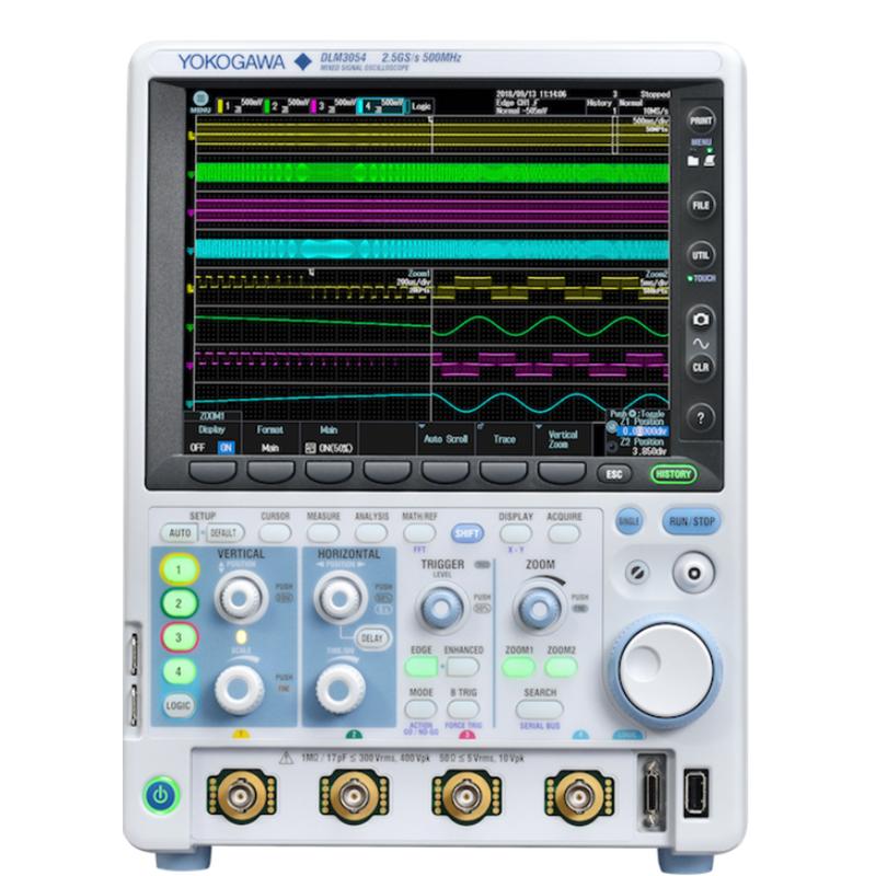 日本横河 DLM3000系列混合信号示波器