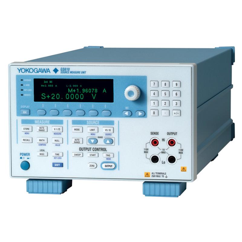 日本横河 GS610 信号源测量单元