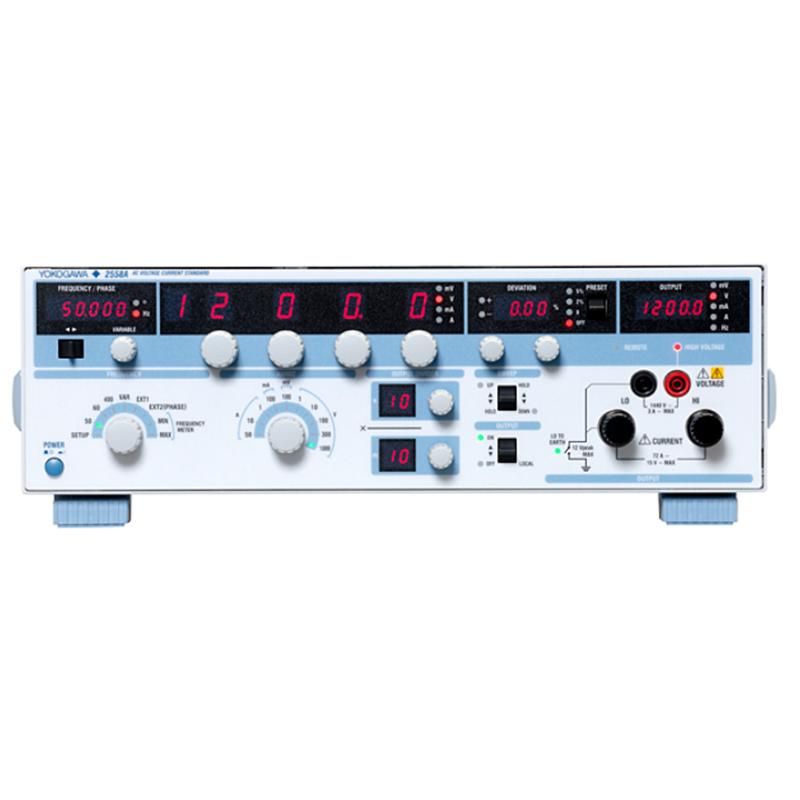 日本横河  2558A 高精度大量程交流标准电压/电流源