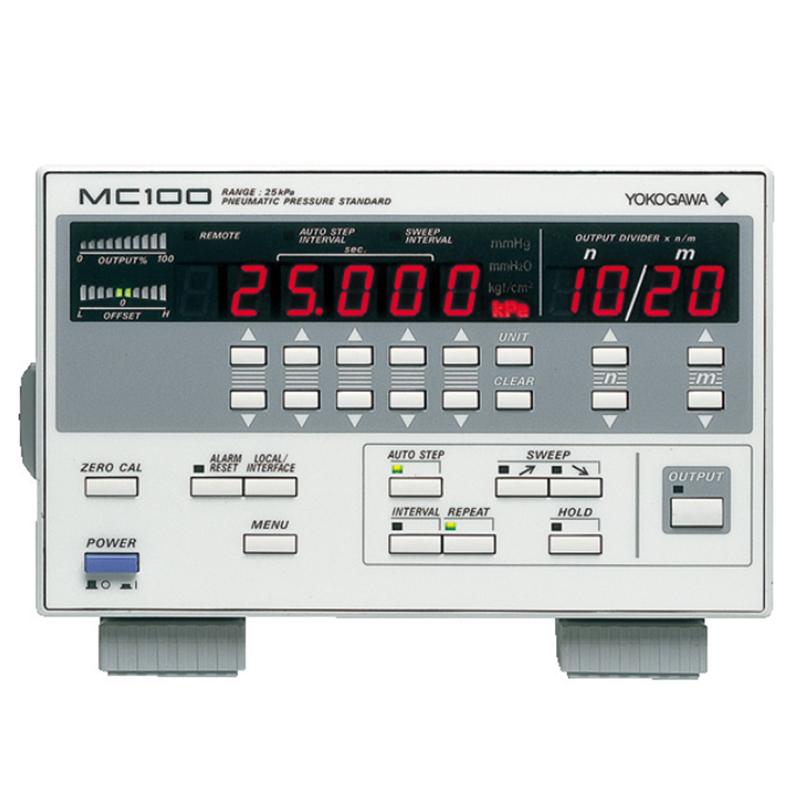 日本横河 MC100 气动压力标准