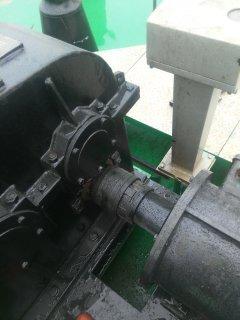 滾柱式扭力限制器在輪船絞錨機上應用