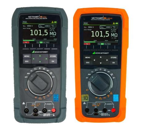 可用于汽车测试的万用表、数字多用表METRAHIT IM XTRA