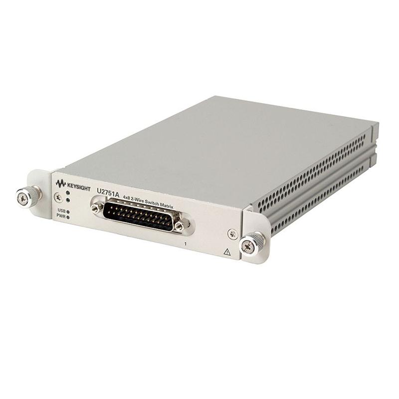 是德科技 U2751A 4x8 2 线 USB 模块化开关矩阵