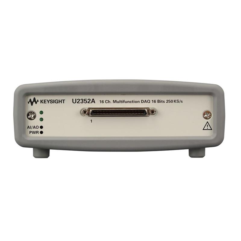 是德科技 U2352A 16 通道 250 kSa/s USB 模块化多功能数据采集设备