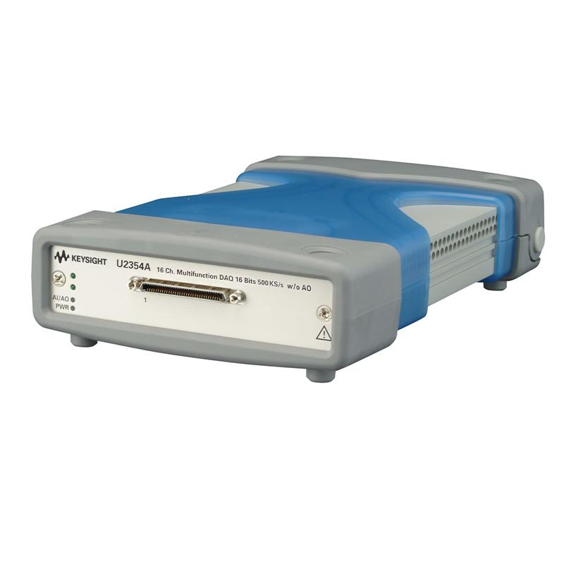 是德科技 U2354A 16 通道 500 kSa/s USB 模块化多功能数据采集设备