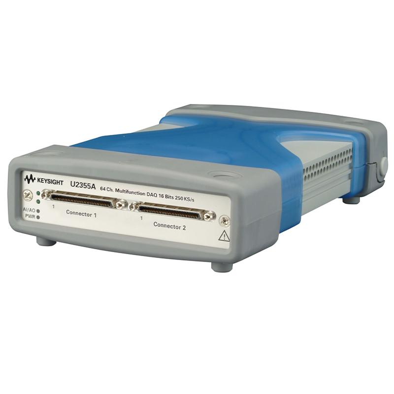 是德科技 U2355A 64 通道 250 kSa/s USB 模块化多功能数据采集设备