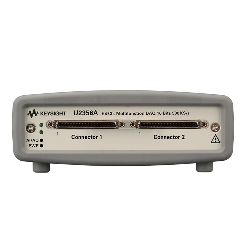 是德科技 U2356A 64 通道 500 kSa/s USB 模块化多功能数据采集设备