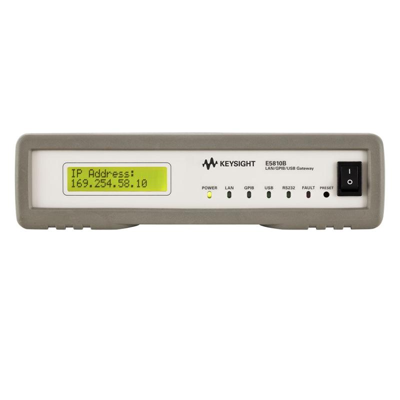 是德科技 E5810B LAN/GPIB/USB 网关