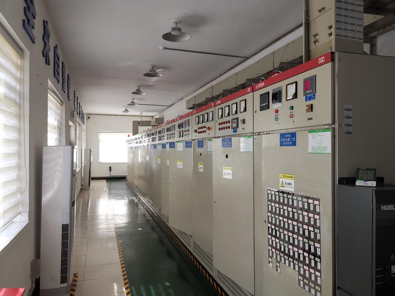 蒙牛乳业中心配电室的电能质量监测:在线电能质量分析仪LINAX PQ系列