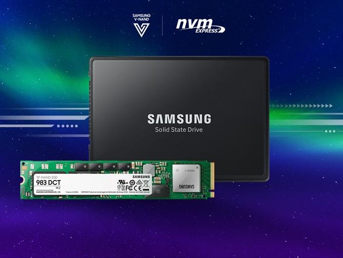三星(SAMSUNG) 983 DCT 1.92TB NVMe U.2/M.2企業級固態硬盤