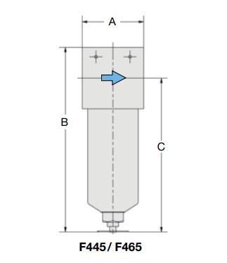 Aircom F445/ F465系列过滤器