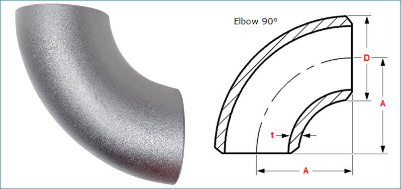 90°弯头管件