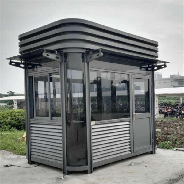 FKB-钢结构玻璃岗亭