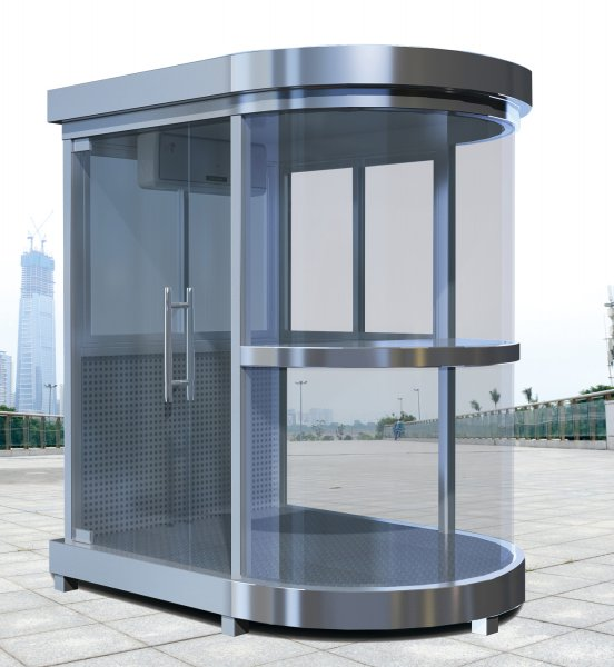 FKB-不锈钢玻璃岗亭
