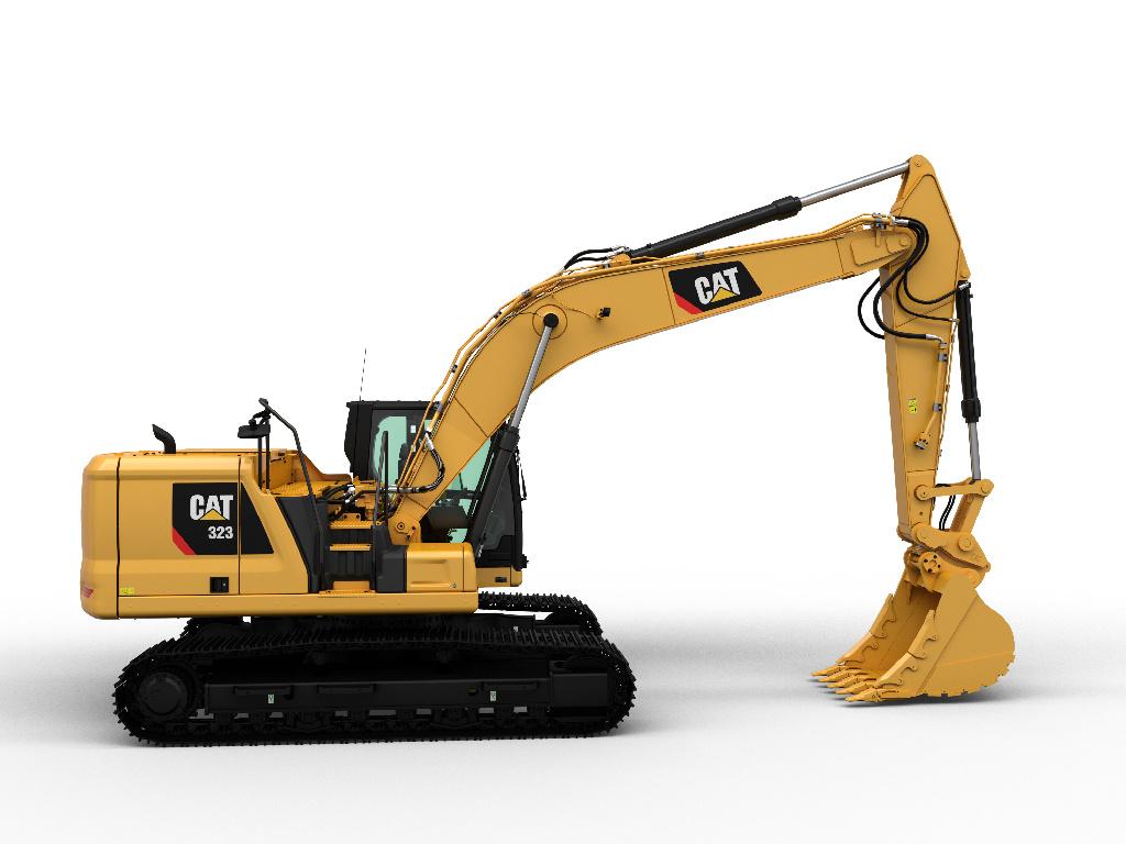 CAT 323