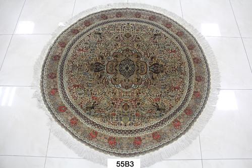 真丝圆毯400道x40001