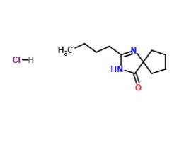2-丁基-1,3-二氮杂螺环[4,4]壬-1-烯-4-酮盐酸盐 CAS 151257-01-1